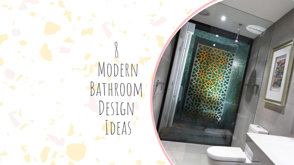 8 Modern Bathroom Design Ideas