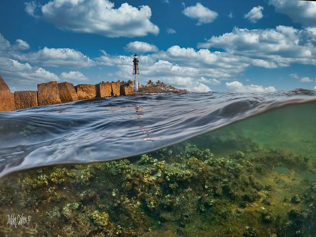 Underwater Lighthouse Composite
