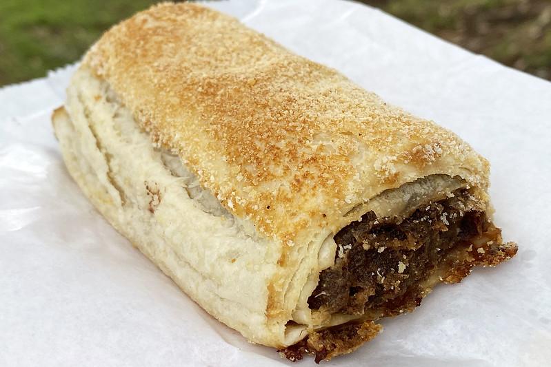 Sausage roll: David's Cakes, Baulkham Hills
