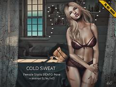 -DNC- Cold Sweat - Female Bento Pose