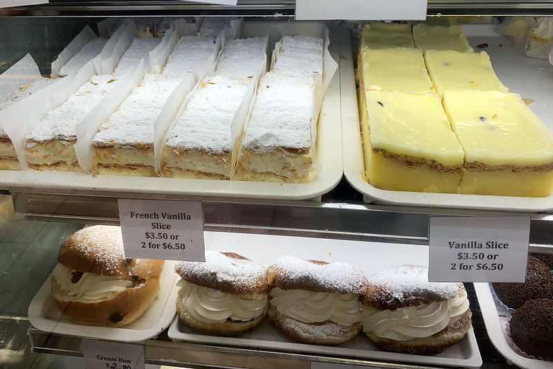 Vanilla slice: Knights Bakehouse, Castle Hill