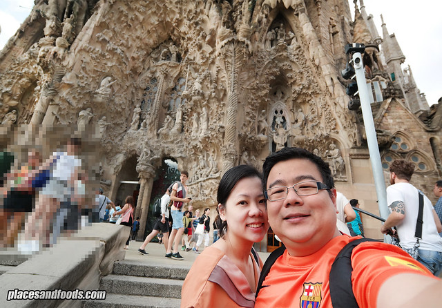 barcelona sagrada familia places and foods