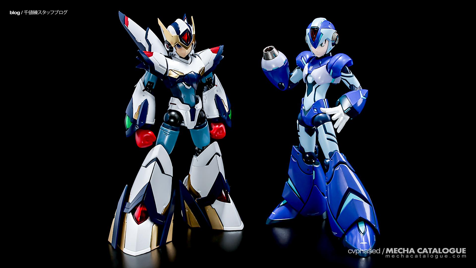Plastic Crack: RIOBOT Rockman X Falcon Armor (Ver. Eiichi Shimizu) ✕ Designer Series Rockman X