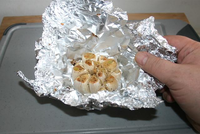 06 - Knoblauch fertig geröstet / Garlic - roasted
