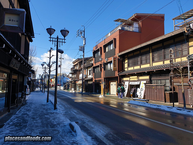 nagoya takayama snow