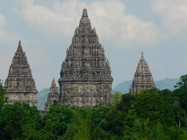 Templos de Prambanan en Indonesia (Sudeste Asiático)