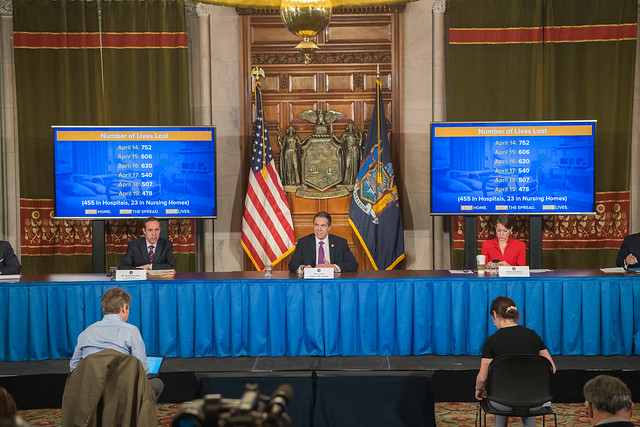 Governor Cuomo Holds Briefing on COVID-19 Response - 4/20