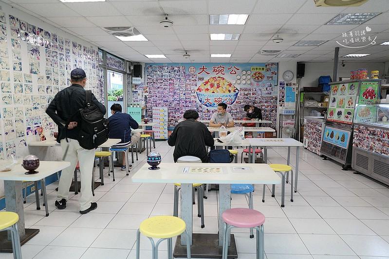 大碗公冰店阿華田綿綿冰孔雀餅乾51