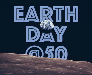 Earth Day @50 logo