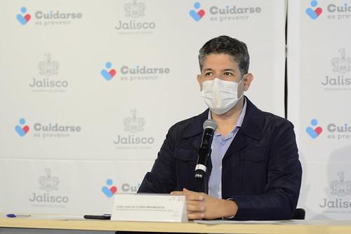 20 Abr 2020 . Secretaría de Educación . Juan Carlos Flores, Secretario de Educación, encabeza la conferencia de prensa para presentar detalles sobre el regreso a clases a distancia.