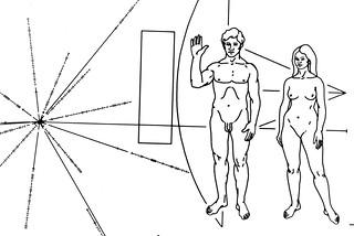 Inspiration: Pioneer 10 plaque (1972)