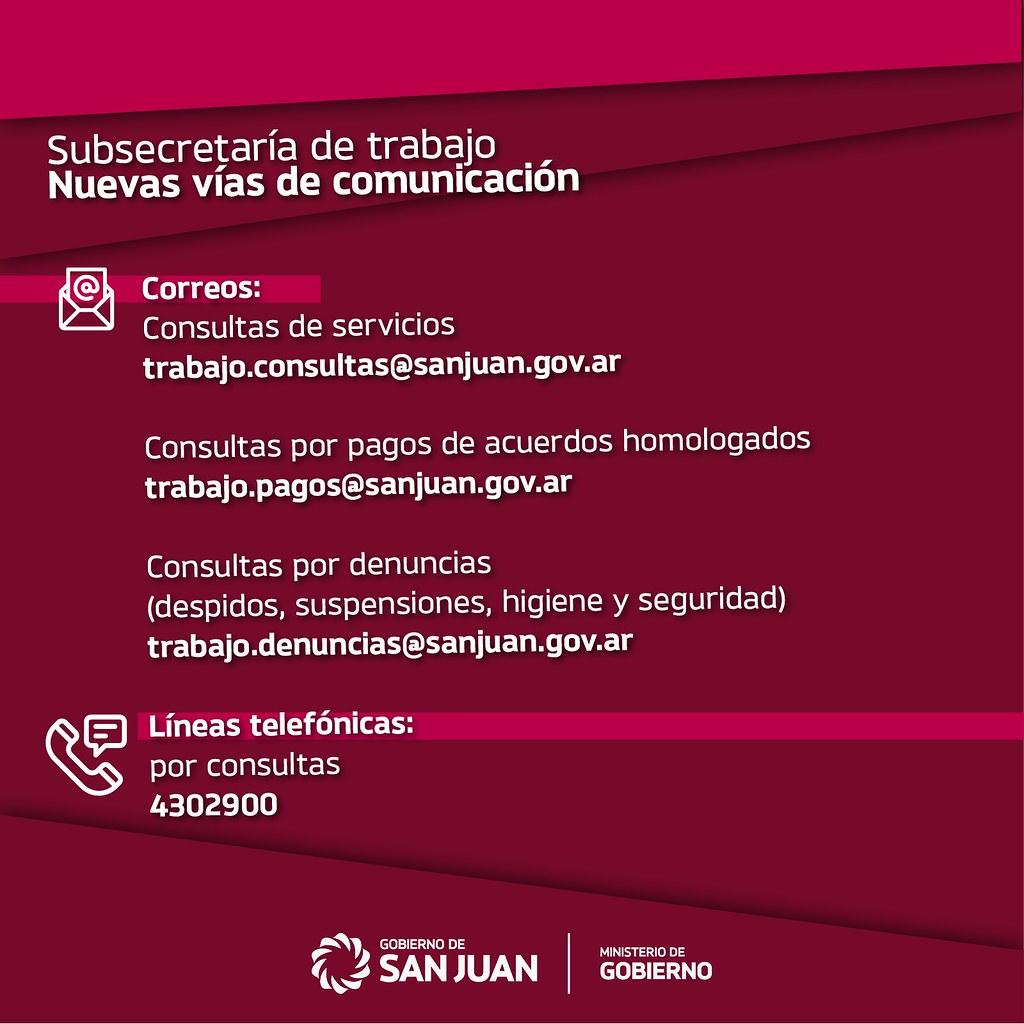 2020-04-20 Gobierno: Vías comunicación Trabajo