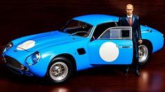 Vladimir Vladimirovich Putin & Aston Martin DB4 GT Zagato, 1961 (CMC 1/18)