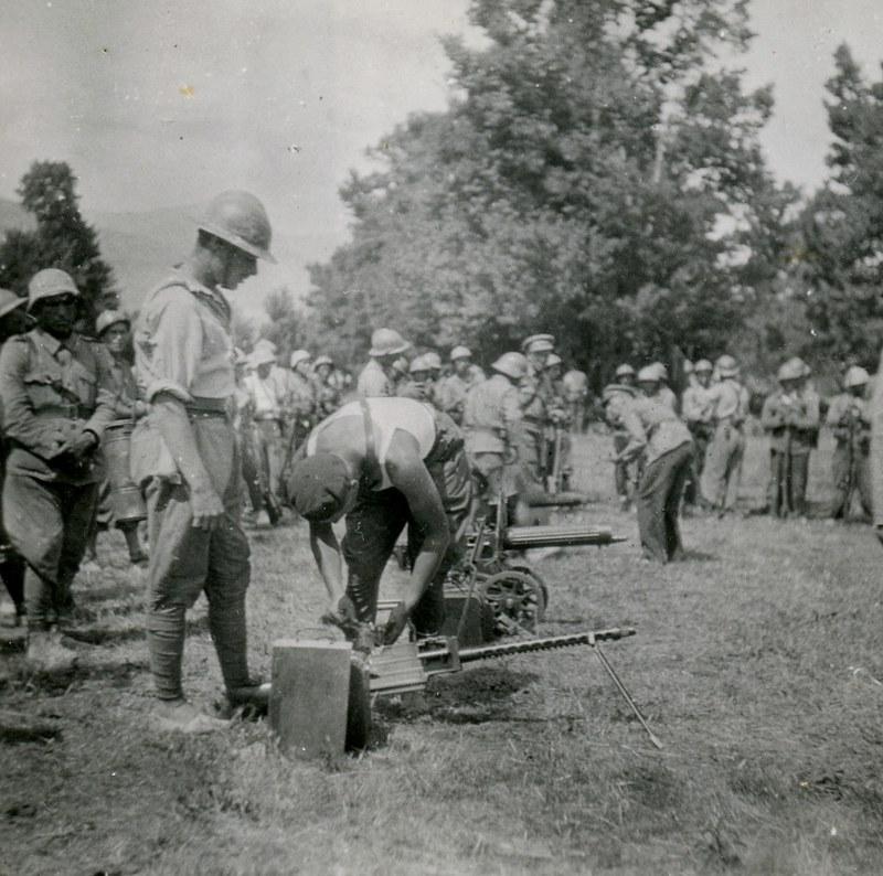 Dąbrowszczacy z batalionu im. Jose Palafoxa