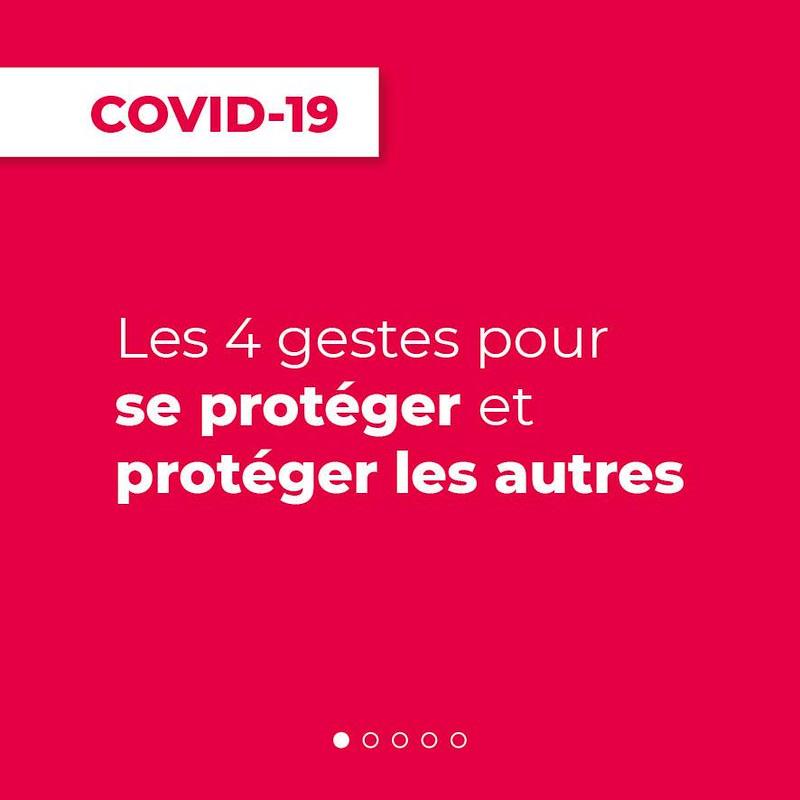 Gestes barrière - Covid19