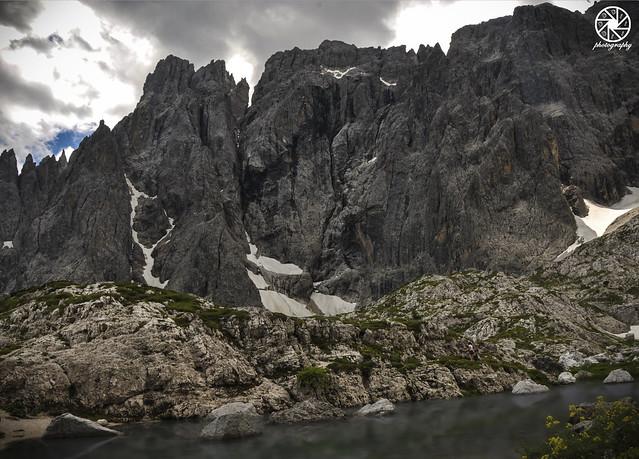 Dramatic Mountain Lake