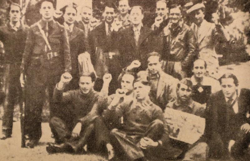 Pierwsi polscy ochotnicy w Hiszpanii