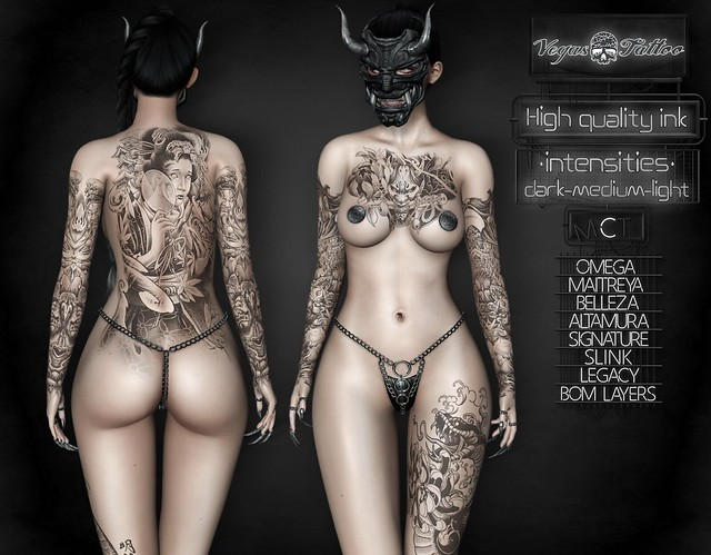 .: Vegas :. Tattoo Applier Transparency (Unisex)