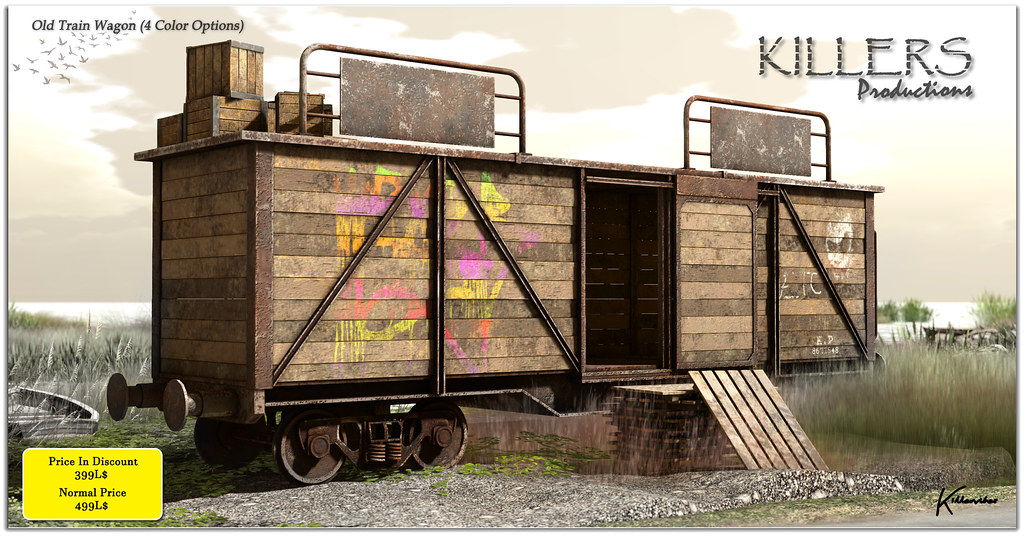 """Killer's"" Old Train Wagon On Discount @ Cosmo Starts from 20th April"