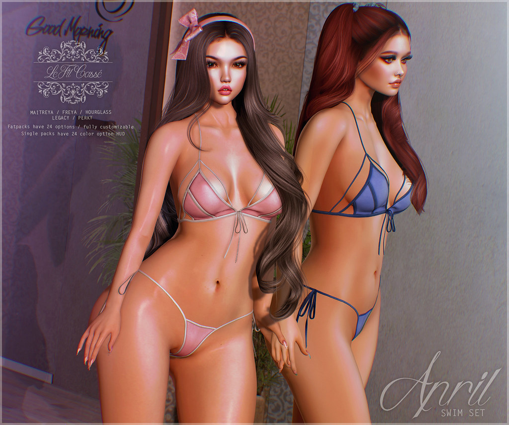 {le fil cassé} April Swim Set @ Spring Flair