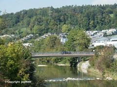 TOS800 Johannes-Beugger Road Bridge over the Töss River, Winterthur, Canton of Zurich, Switzerland