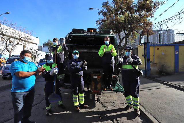#EnTerreno : Sanitización de Camiones de Aseo