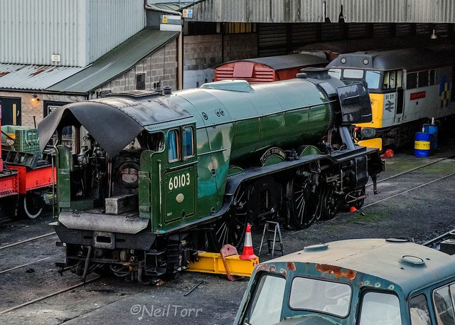 Scotsman in for repairs