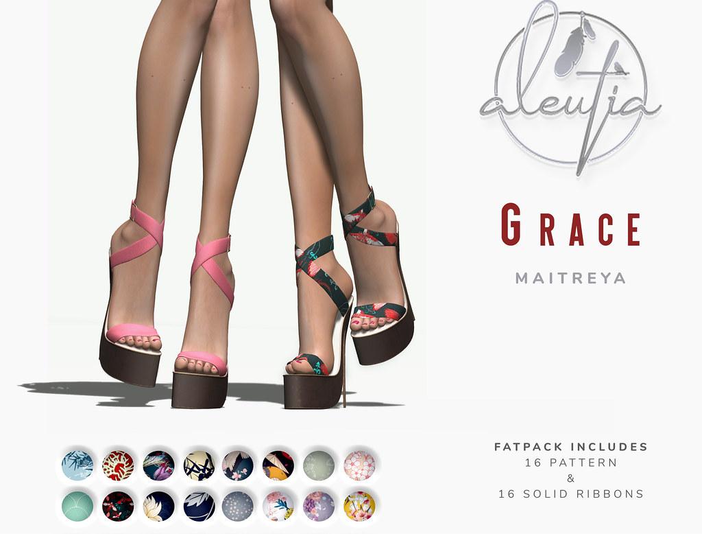 [Aleutia] Grace Heels @Belle