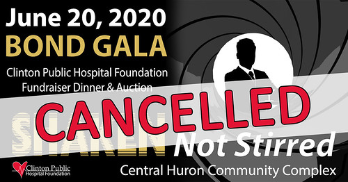200415 - CPHF Gala Cancelled