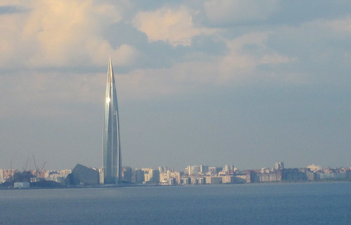 Gazprom Tower, St Petersburg