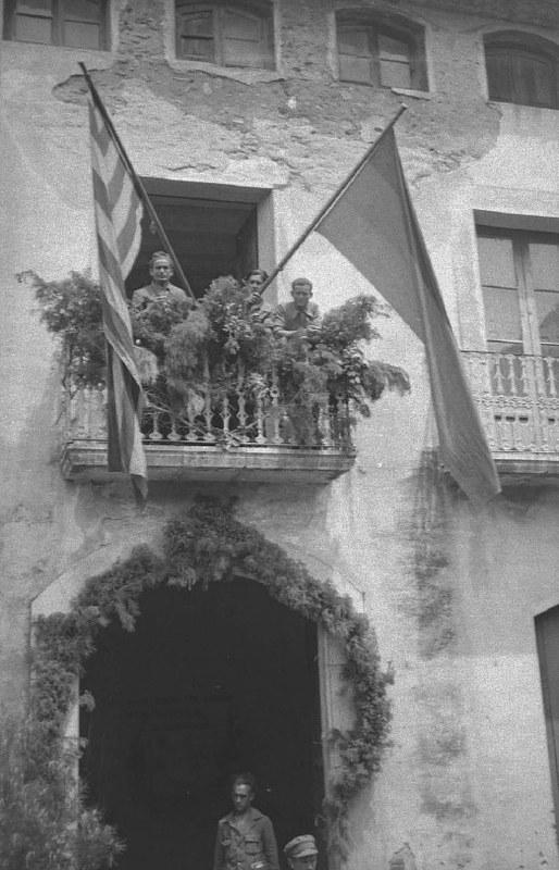 Dąbrowszczacy w Torre de Fontaubella