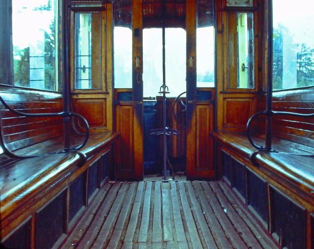 Antique Train Interior