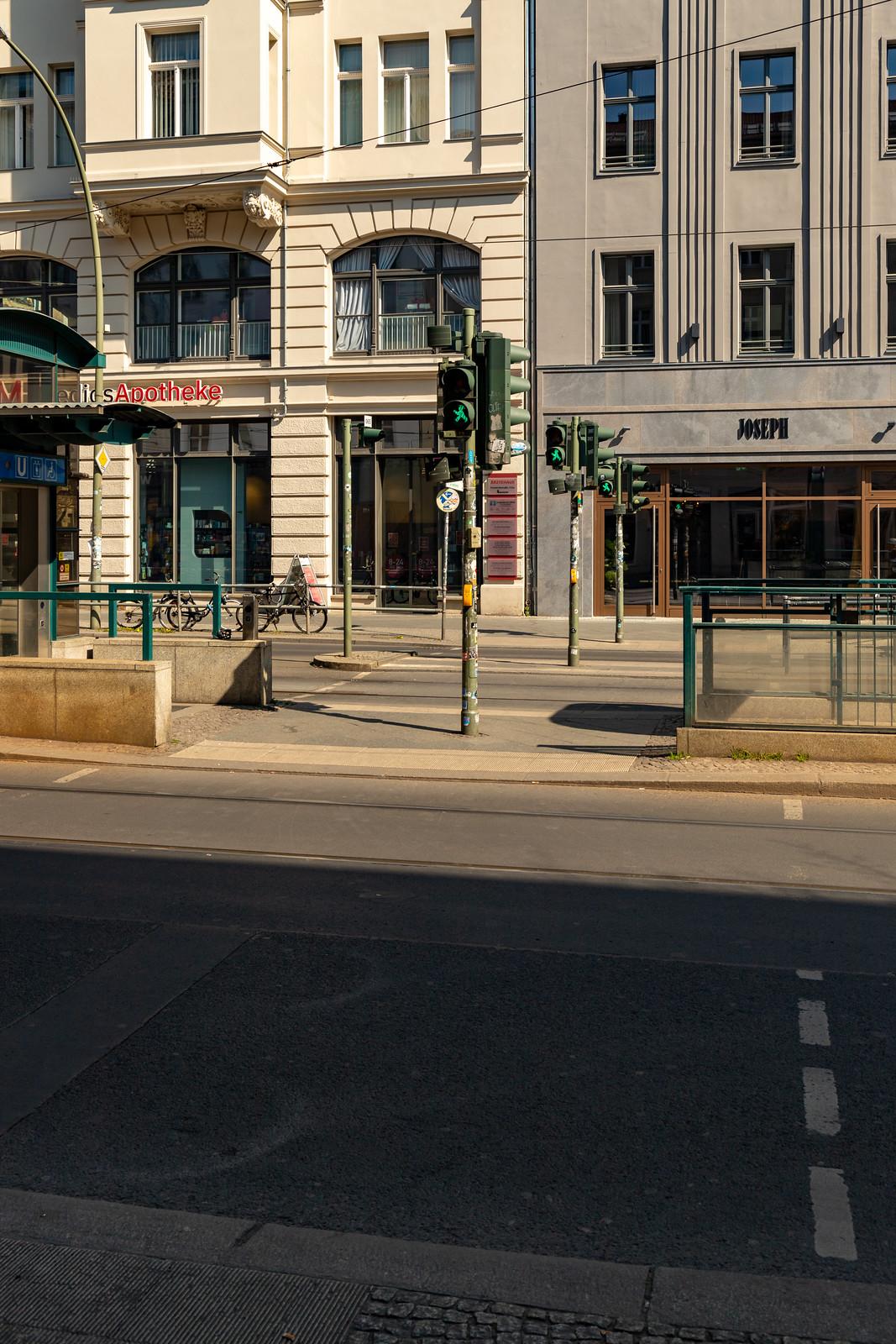 Oranienburger Ecke Friedrichstraße