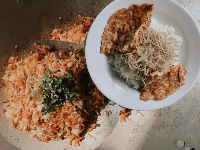 Nasi goreng wortel