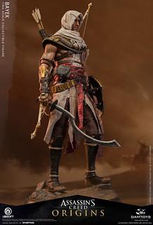 踏上復仇之旅的守護者末裔! DAMTOYS《刺客教條:起源》巴耶克 (Assassin's Creed Origins Bayek) 1/6 比例人偶 公開