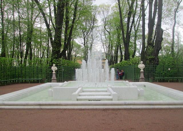 Summer Gardens, St Petersburg, Russia