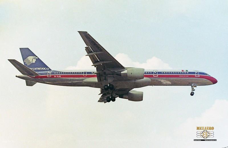 Aeromexico / Boeing 757-2Q8 / XA-SJD