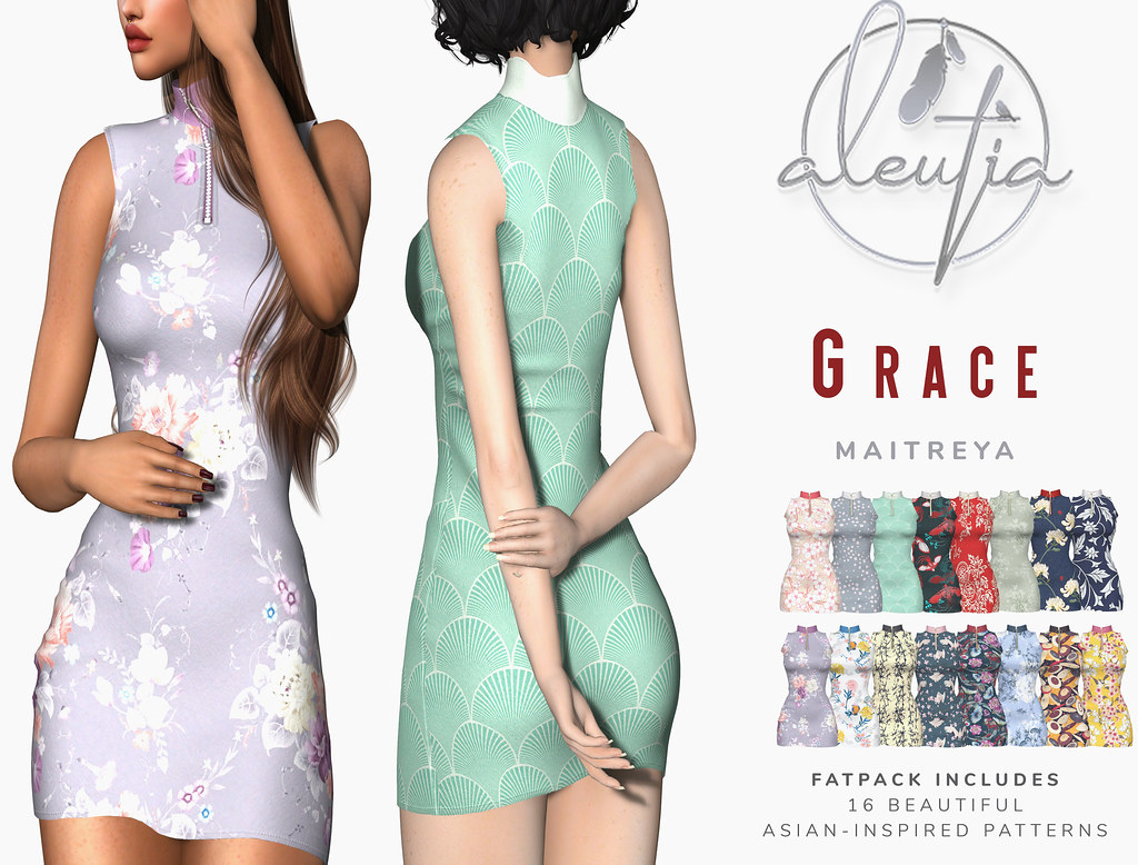 [Aleutia] Grace Dress @Belle