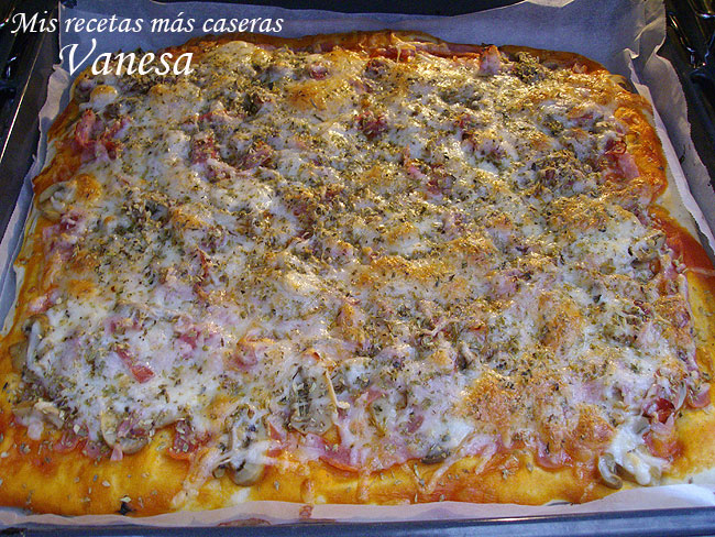 PizzaconJamonyChampis09