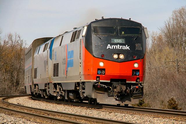 Amtrak Phase I Heritage Unit