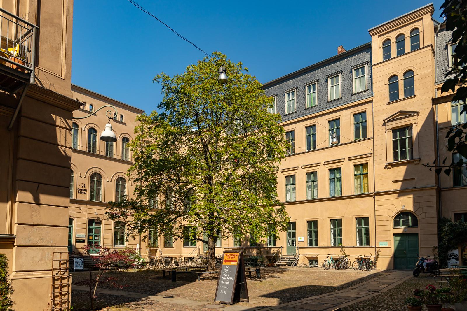 Der Kunsthof in der Oranienburger Straße