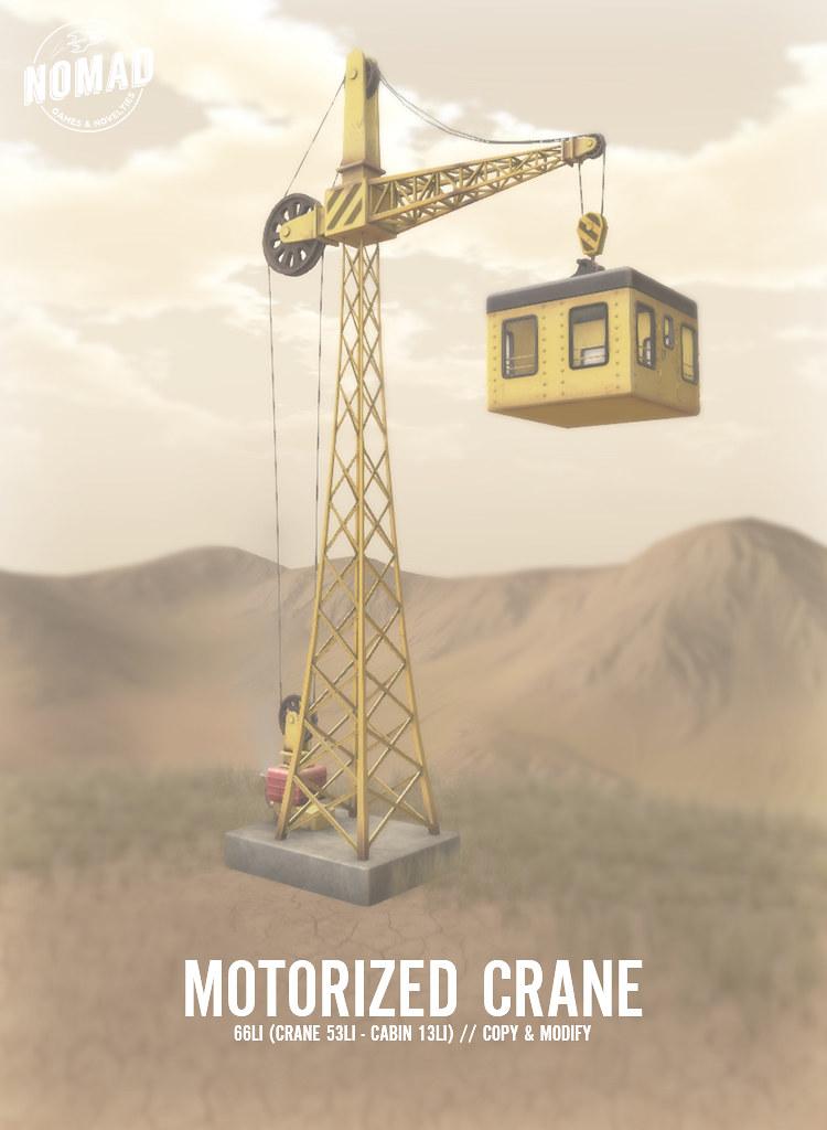 NOMAD // Motorized Crane