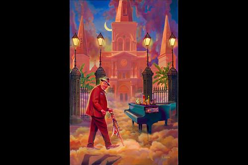 Scott Guion - Dr. John Jazz Fest 2020 classic poster