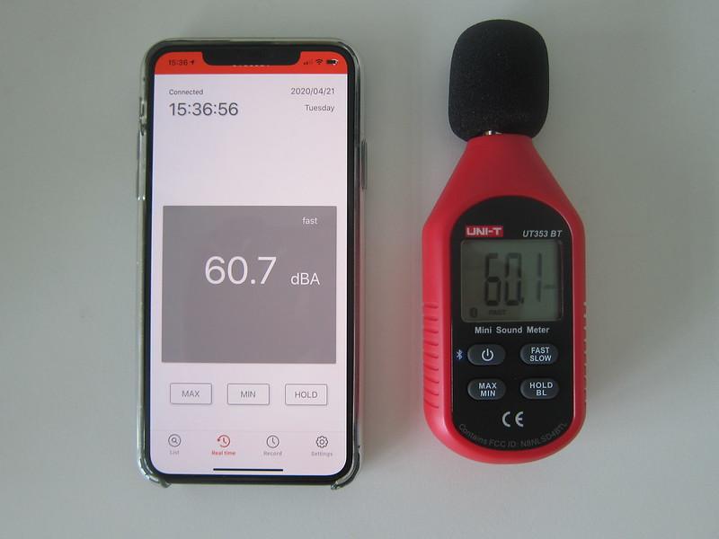 UNI-T Mini Sound Lever Meter (UT353BT) - With iENV iOS App