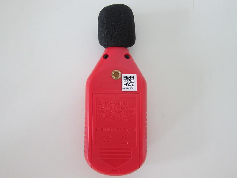 UNI-T Mini Sound Lever Meter (UT353BT) - Back