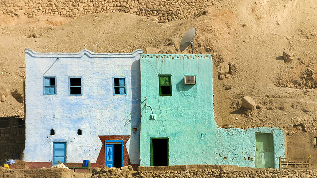 Life on the edge of the desert