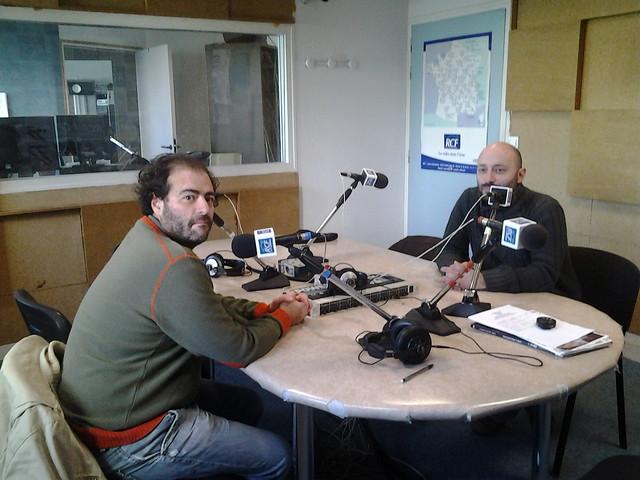 Tarek et Vincent Pompetti à RCF