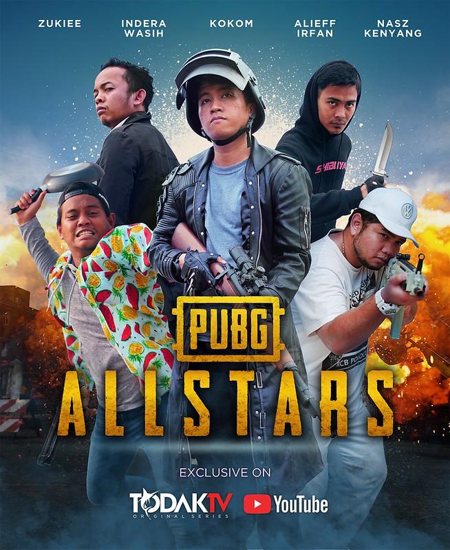 poster pubg allstars FULL LINE UP for socmed