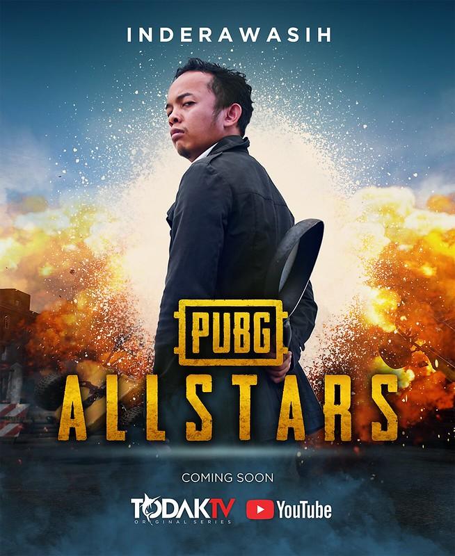 Poster PUBG allstars INDERAWASIH