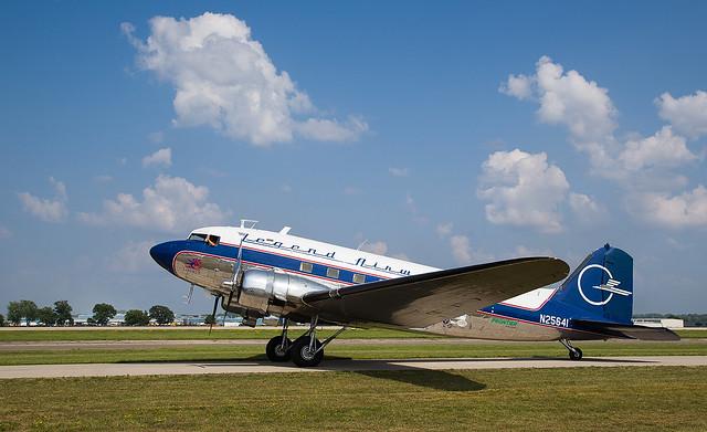 N25641 DC-3, Oshkosh